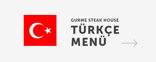 Gurme Steak House Menu